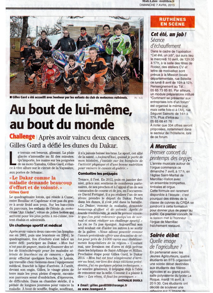 Article Midi-Libre 7 avril 2013210