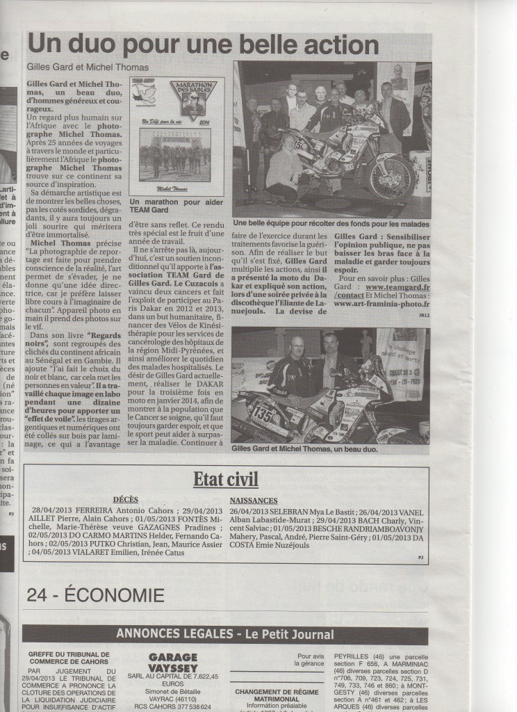 Article N2 le petit Journal 10 mai 2013 003
