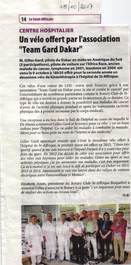 St Affrique le St Africain